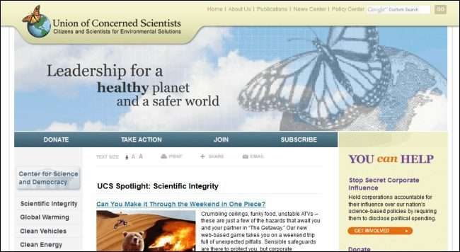 Union of Concerned Scientists (UCS)